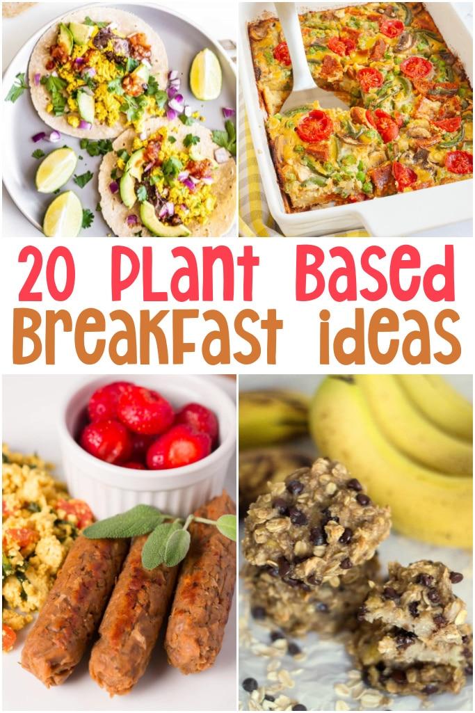 easy plant based breakfast ideas