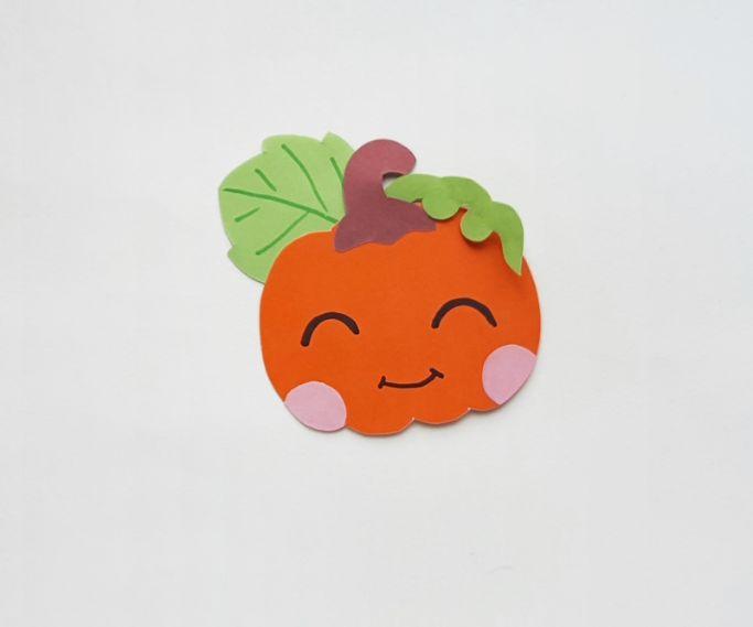finished pumpkin craft