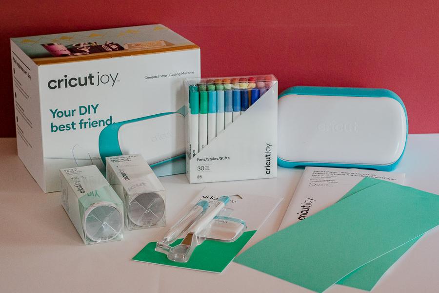 materials for homeschool supplies cart