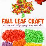 fall leaf craft collage