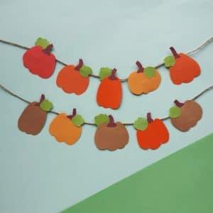 pumpkin banner square