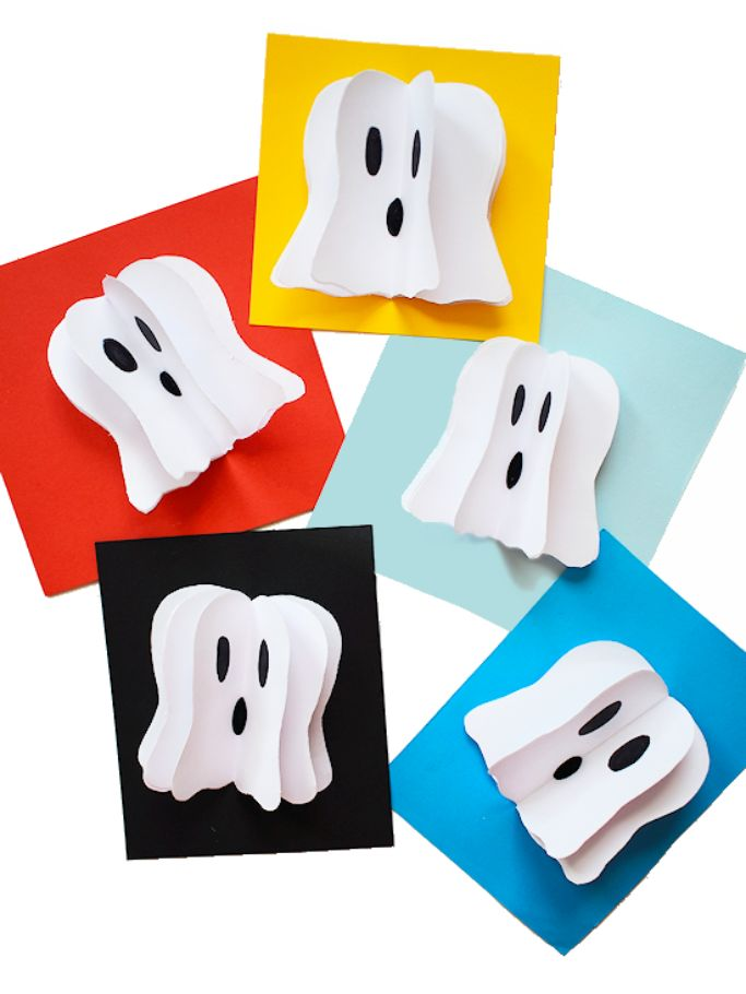 3d ghosts from our kid things