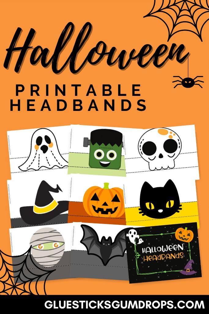 pin image for halloween headbands