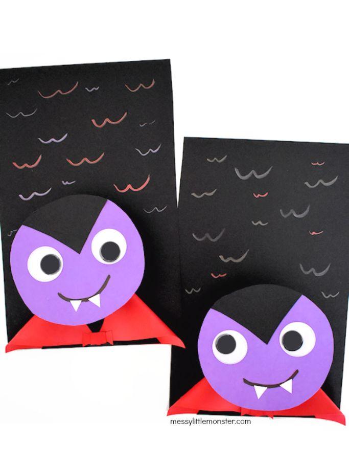 bobble head vampires by messy little monster