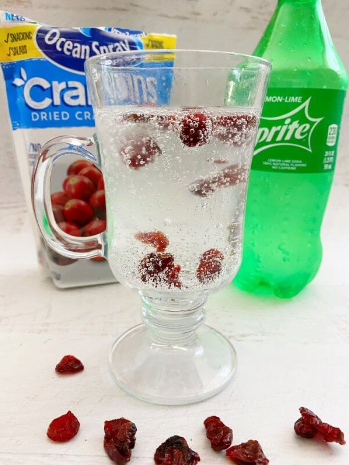 dancing cranberries experiment