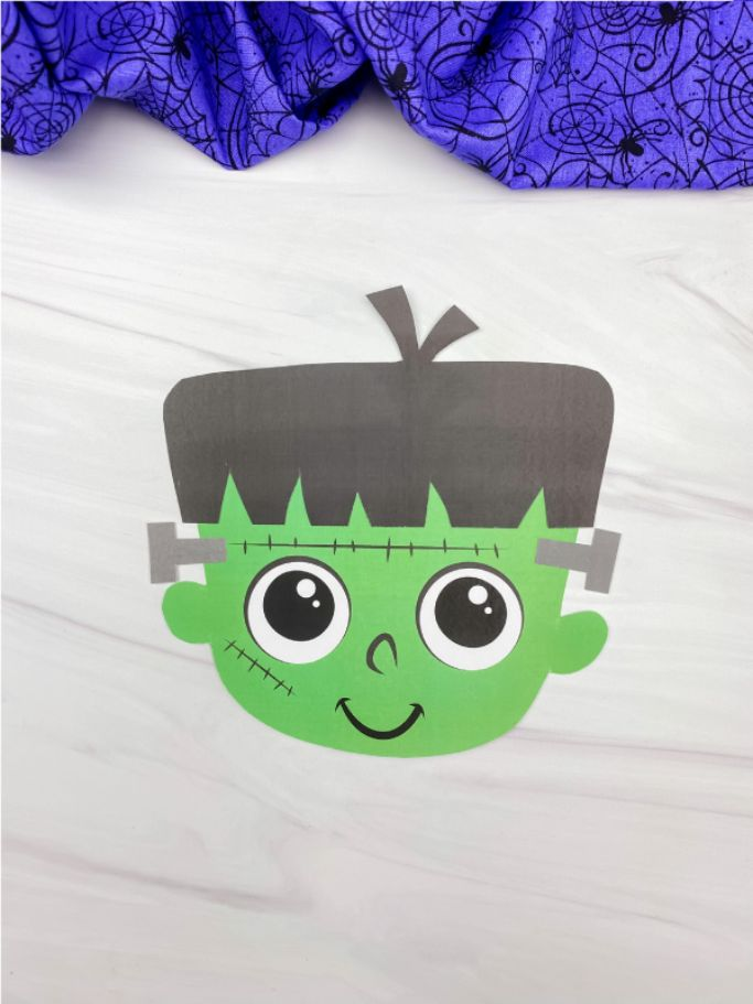 cut and paste frankenstein by simple everyday mom