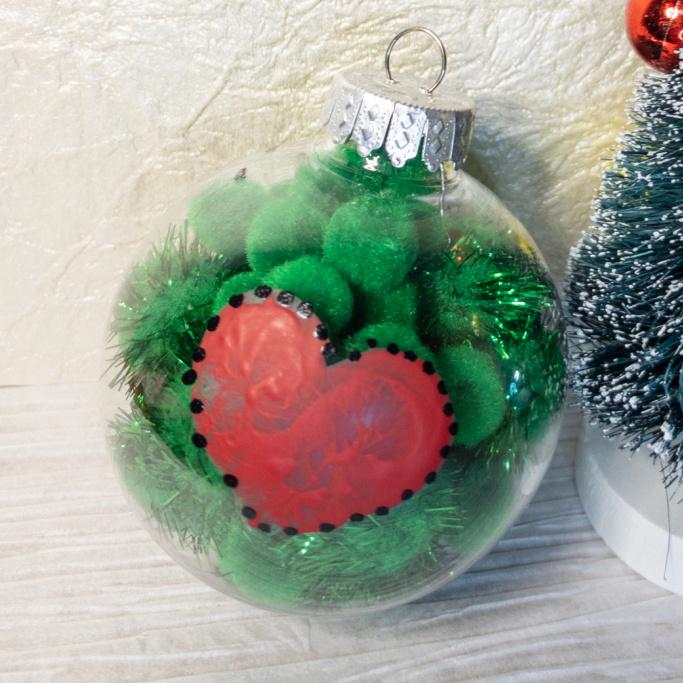 grinch ornament craft