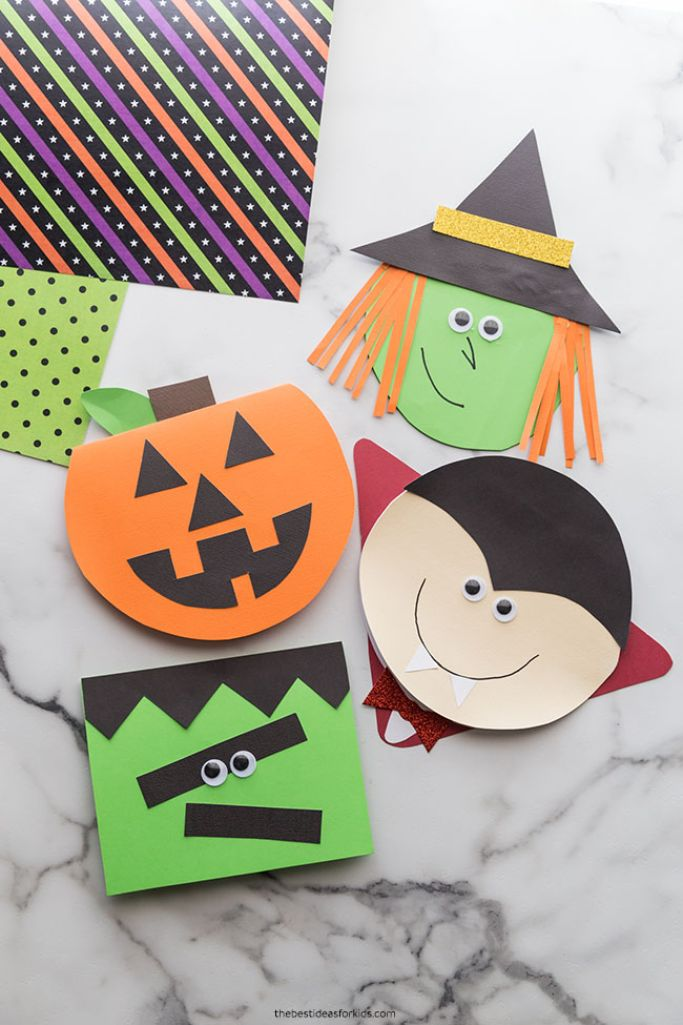 halloween cards from the best ideas for kids