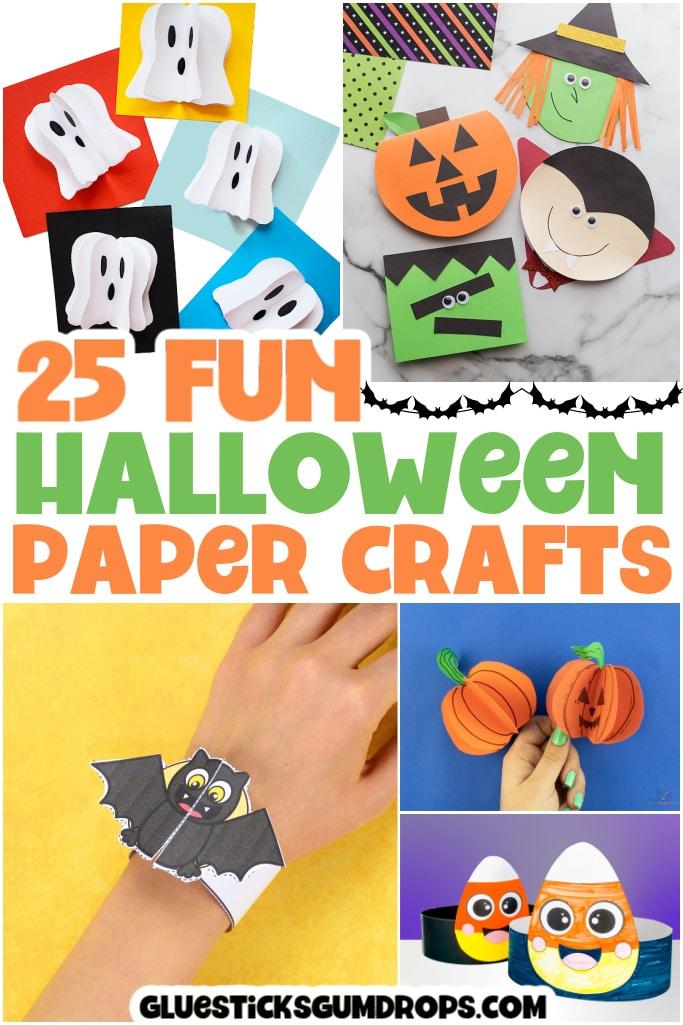 halloween paper crafts pin 3
