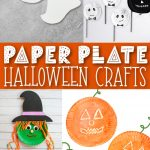 halloween paper plate crafts pin