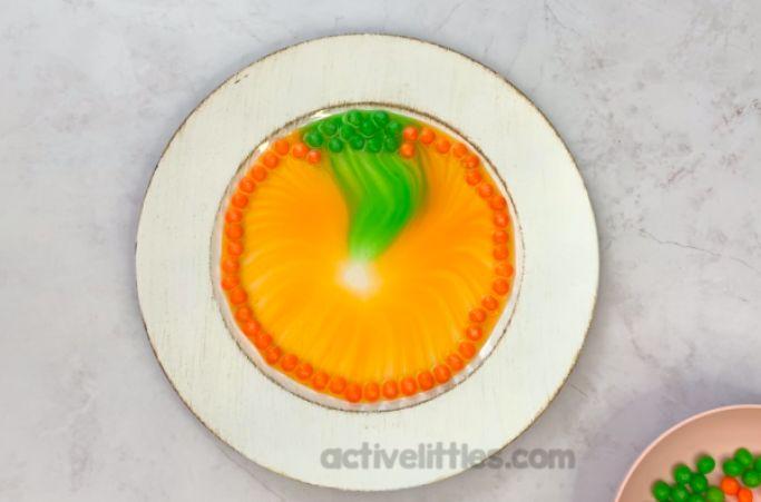 pumpkin skittles activity