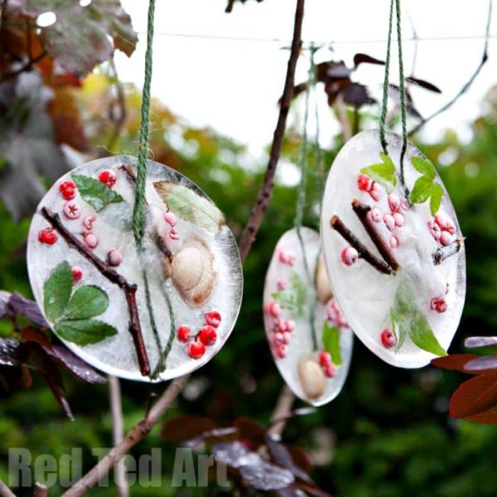 ice ornaments activity