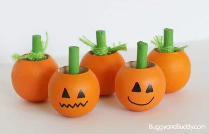 spinning pumpkins