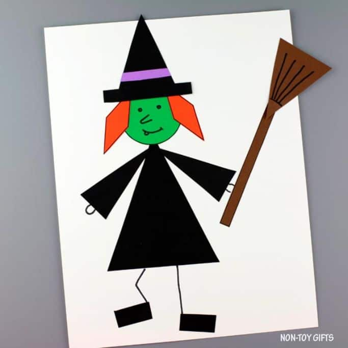shape witch craft from non-toy gifts