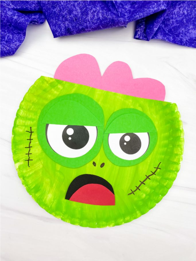 zombie craft by simple everyday mom